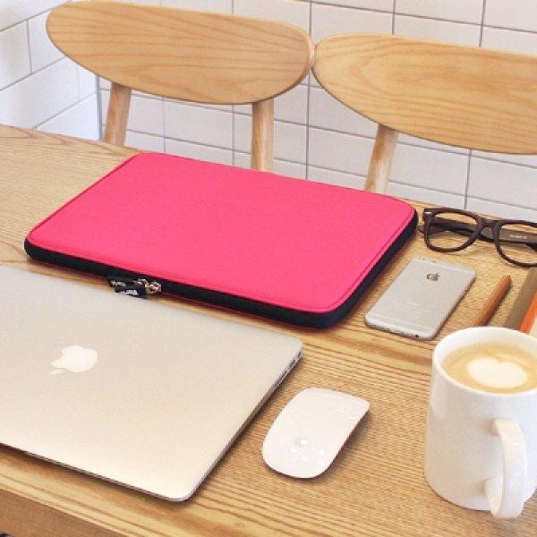 바리에 비비드 슬림 13.3인치 노트북 파우치 핑크 상품이미지