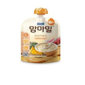 (묶음할인)매일유업_맘마밀안심이유식단호박과소고기6개월_100G