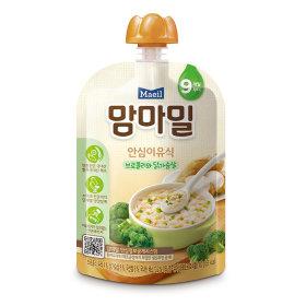 (묶음할인)매일유업_맘마밀안심이유식브로콜리와닭가슴살9개월_100G