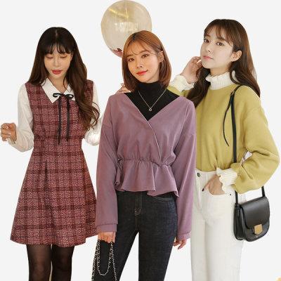 DARLLYSHOP/F/T-Shirts/Coat/Jacket/Knitwear Dresses