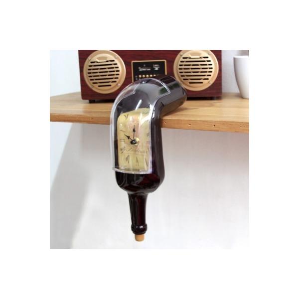 녹아내린 와인병 멜팅클락/흘러내리는시계/특이한시계 상품이미지