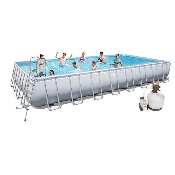 (56623)고급형 파이프대형풀장(956x488x132cm)수영장 상품이미지