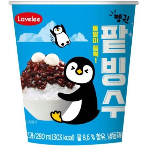 팥빙수/아이스크림/12+6개한박스/무료배송 상품이미지