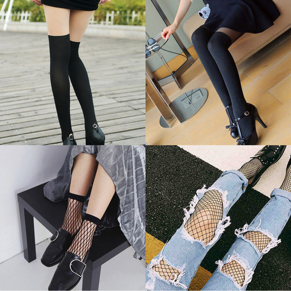 투톤스타킹/팬티스타킹/망사스타킹/망사양말/stocking 상품이미지