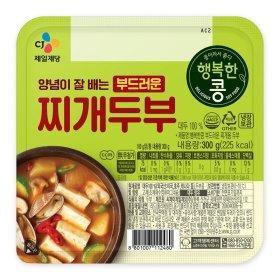 씨제이 행복한콩_찌개두부_300g
