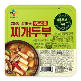 씨제이_행복한콩부드러운찌개두부_300G