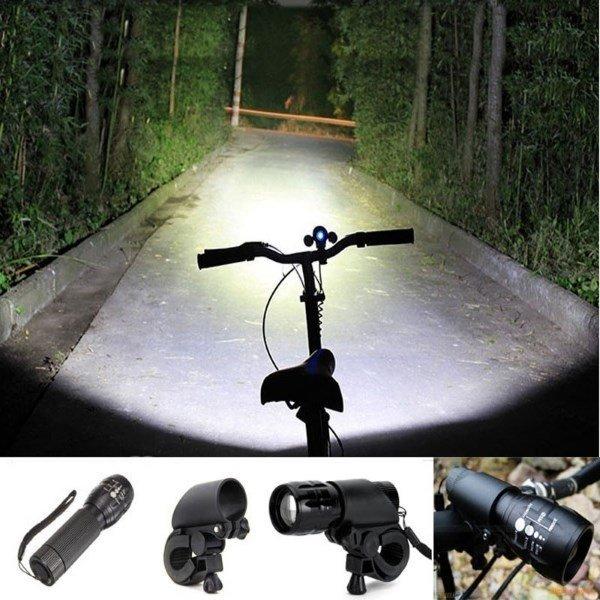 2000 루멘 자전거 라이트 손전등 LED 상품이미지
