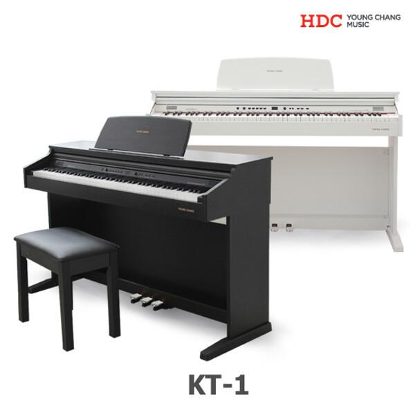 (현대Hmall) 영창악기 KT-1 디지털피아노/KT1/최신형/해머건반/절전기능/다양한 교육 상품이미지