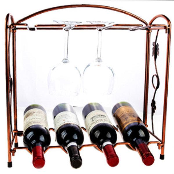 인테리어 와인병 와인잔거치대 꽂이 선반 렉 진열대 상품이미지