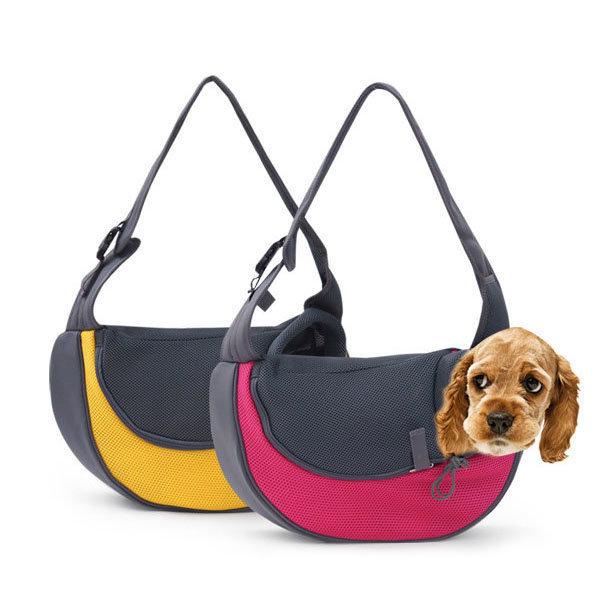 애견 슬링백 이동가방 외출 산책 강아지 고양이 가방 상품이미지