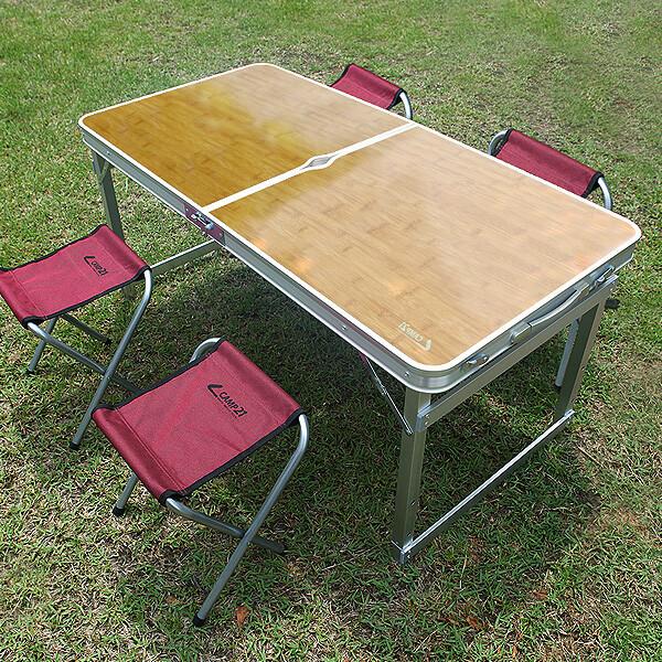 트렌스포머 테이블+의자4개 야외 접이식 캠핑 피크닉 상품이미지