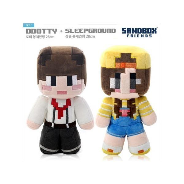 공식판매처 도티 잠뜰-봉제인형(28cm 자수형) 상품이미지