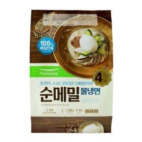 풀무원 순메밀물냉면4인 1700G