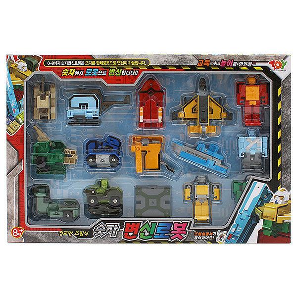 알파벳변신로봇/숫자변신로봇/10개세트 15개세트 상품이미지