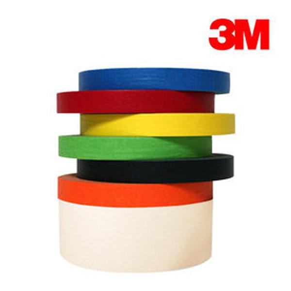 3M 마스킹테이프 커버링테이프 종이테이프 다양한색상 상품이미지