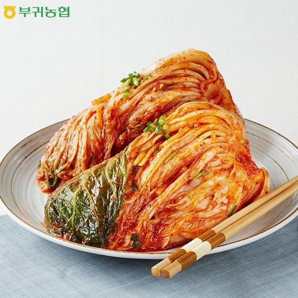 부귀농협 마이산 포기김치 생김치 10Kg 상품이미지
