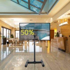 (카멜마운트) 높이조절 광고형 모니터 스탠드 SB-42