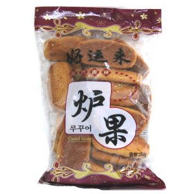 Made in Korea Chinese confectionery lu guo 250g 4 packs biscuit snack