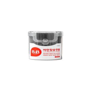 [비앤비]보령_B B유아용면봉까만참숯_150P