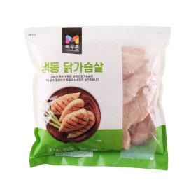 (행사상품)냉동닭가슴살_2 kg 봉