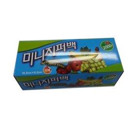 (10+1)천원 생활미소_미니지퍼백_50매입