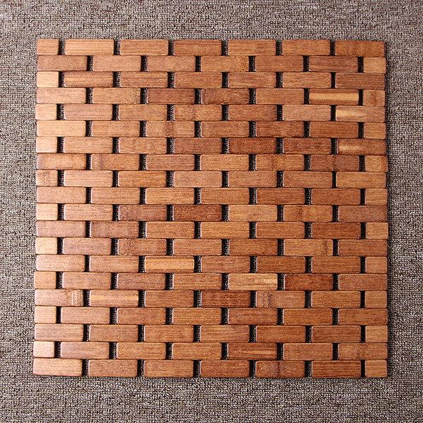 벽돌무늬 대나무방석(39cm)/차량용 쿨방석 통풍시트 상품이미지