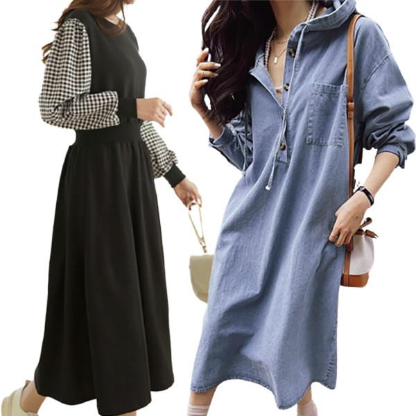 성진 봄 신상 여성 원피스 블라우스 코트 상품이미지