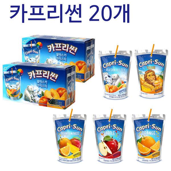 농심/카프리썬 20ea/박스판매/무료배송 상품이미지
