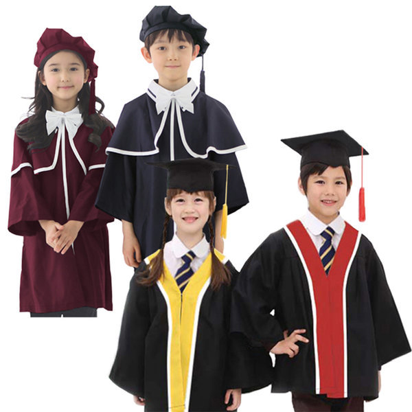 어린이집 유치원 졸업가운 세트 (학사모) 상품이미지
