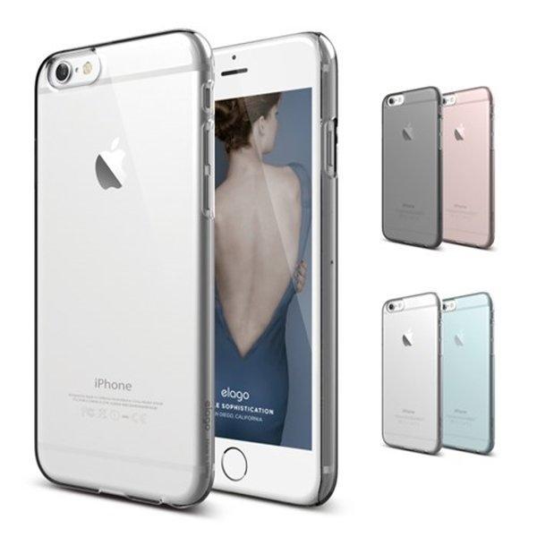 (이어폰증정) 아이폰6/6S 슬림핏2 반투명케이스 상품이미지