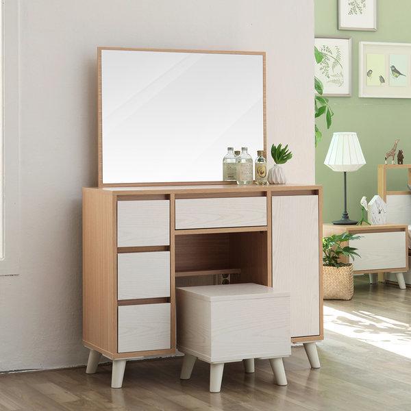G마켓 - 로라 화장대세트(의자거울포함)/화장대/침실가구