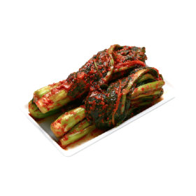 전통식품인증 김치 국내산 여수돌산갓사용 갓김치2kg