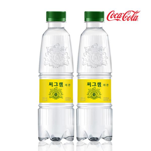 씨그램 레몬 350ml x24PET/음료/음료수/탄산음료 상품이미지