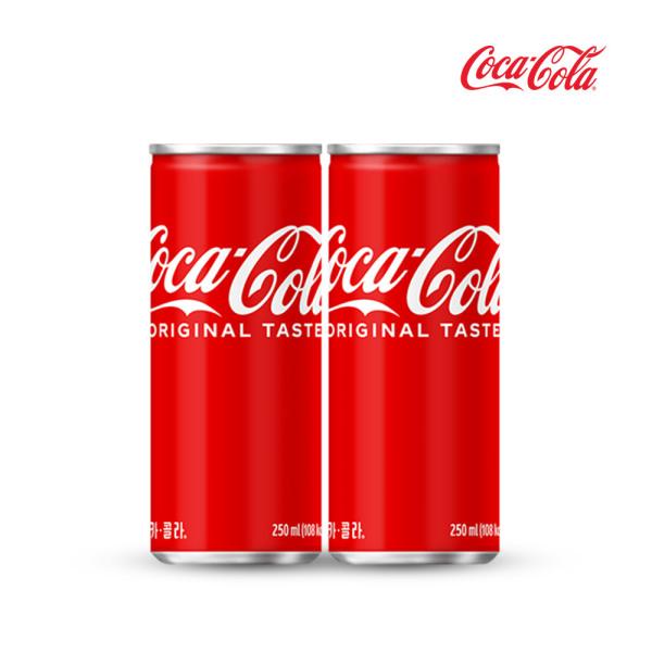 코카콜라 250ml 30캔/라이트/음료수/캔음료 상품이미지