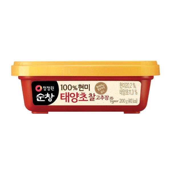 대상 청정원우리쌀로만든찰고추장 200G 상품이미지