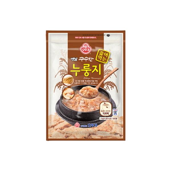 오뚜기 옛날 구수한 끓여먹는 누룽지 3kg 50인분 상품이미지