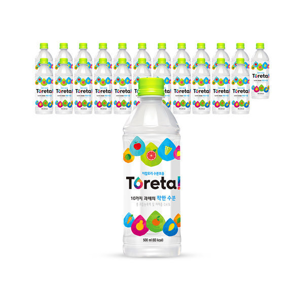 토레타 500ml x24pet/음료수/음료 상품이미지