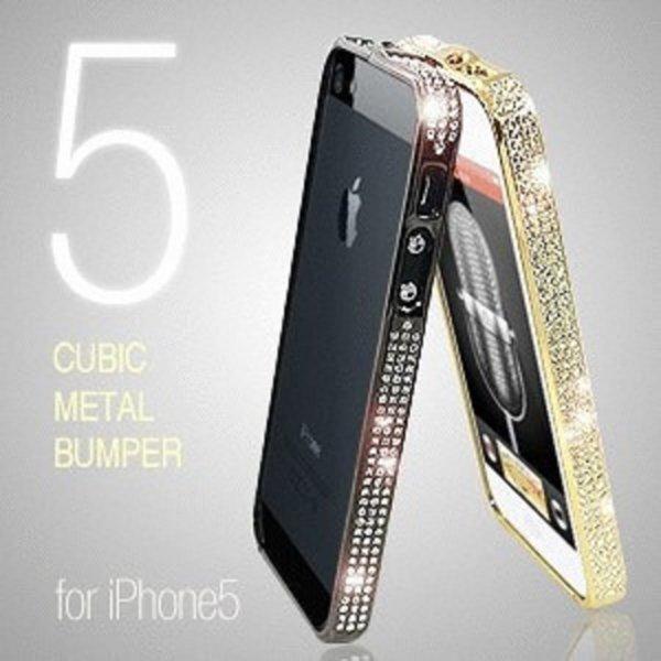 아이폰5 큐빅메탈범퍼 케이스 상품이미지