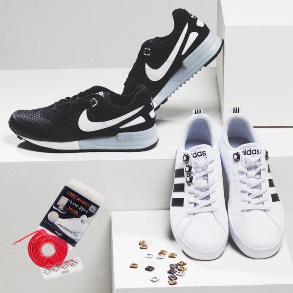 클립레이스/매듭정리기/신발악세사리/신발끈결속기 상품이미지