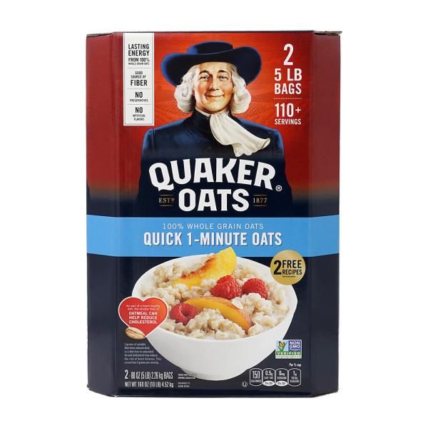 Quaker 퀘이커 오트밀 퀵 1분 오트밀 4.52kg NO나트륨 상품이미지