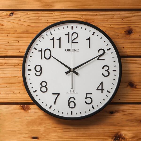 (현대Hmall)(제조사판매/당일무료발송) 오리엔트 OT767RC 야간무소음 자동시간맞춤 전파수신벽시계 OT767 상품이미지