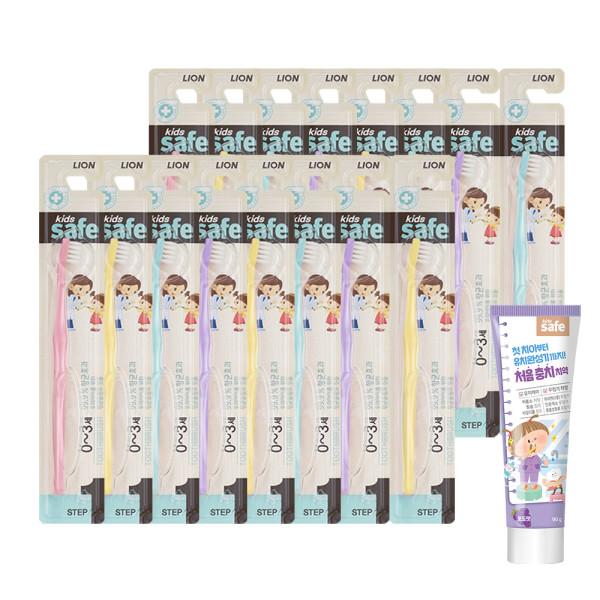 유아 어린이 칫솔 16개/ 유아치약 어린이치약 상품이미지