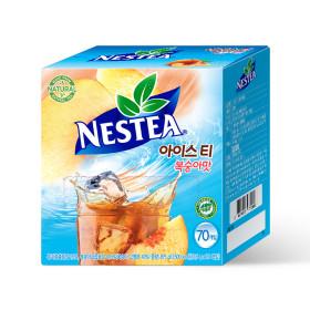 복숭아 아이스티 70T /음료/음료수