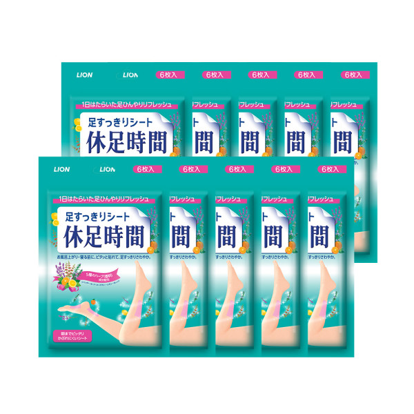 쿨링시트 6매입 x10개/ 휴가필수품 상품이미지