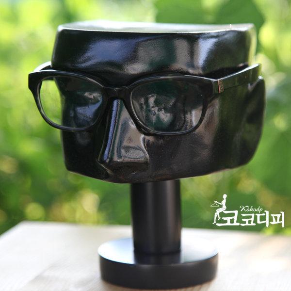 frp 안경점 매장용품 정리소품 두상 머리 얼굴마네킹 상품이미지