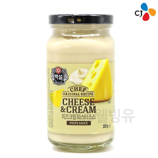 백설 치즈 크림 파스타 소스 350g /스파게티 상품이미지