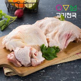 (고기천국) 닭다리살/닭정육/닭고기 2kg