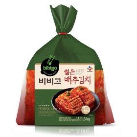 씨제이 비비고썰은배추김치 1.8kg
