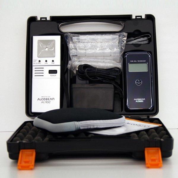 AL-1102   AL-9000 세트상품/음주측정기/음주감지기/안전용품/음주운전방지및예방 상품이미지
