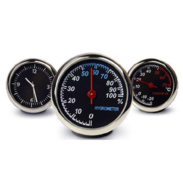 차량용 아날로그 시계 디지털 자동차 온도계 습도계 상품이미지